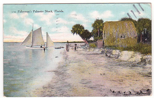 Florida Fishermans Palmetto Shack